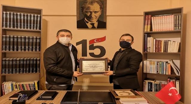 Edirne Göç İdaresi Müdürü Aşılıoğlu'ndan, EDGED'e ziyaret
