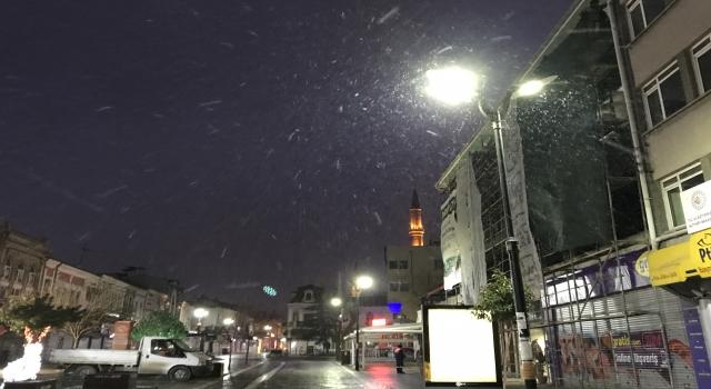 Trakya'da kar etkili oluyor