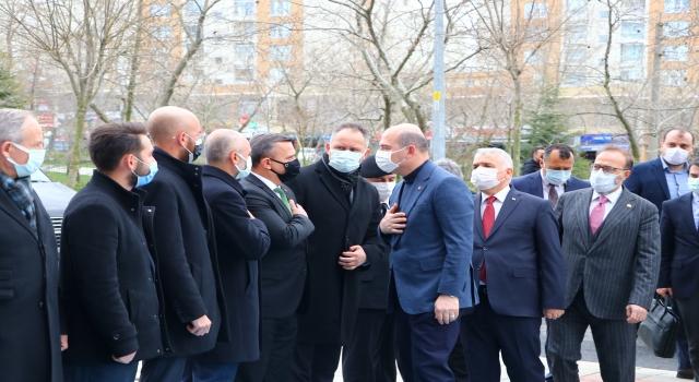 İçişleri Bakanı Süleyman Soylu, Tekirdağ'da güvenlik toplantısına katıldı
