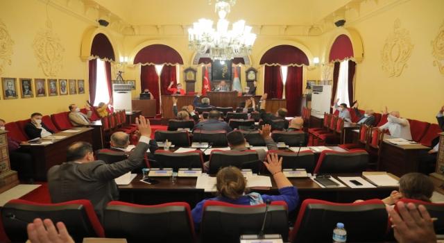 Edirne Belediye Meclisi, İsrail'in Filistin'e yönelik saldırılarını kınadı