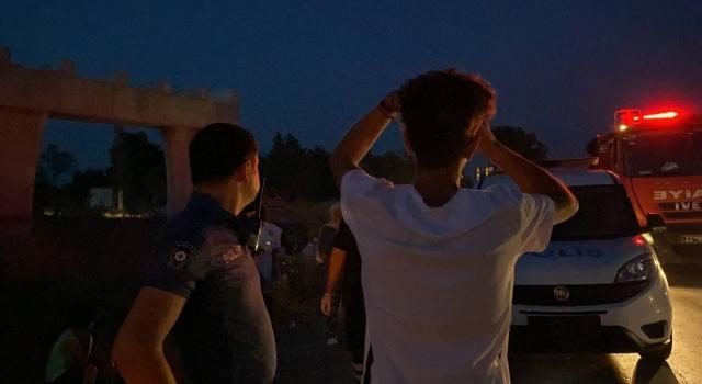 Edirne'de kullandığı araçla kaza yapan ehliyetsiz sürücü babasına sarılıp ağladı