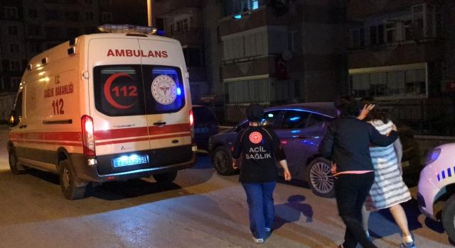 Edirne'de sitedeki dairede çıkan yangın hasara neden oldu