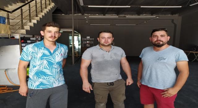 Keşan'da esnaf yangında zarar gören vatandaşlar için yardım kampanyası başlattı