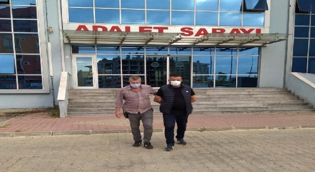 Keşan'da 6 yıl hapis cezasıyla aranan şüpheli tutuklandı