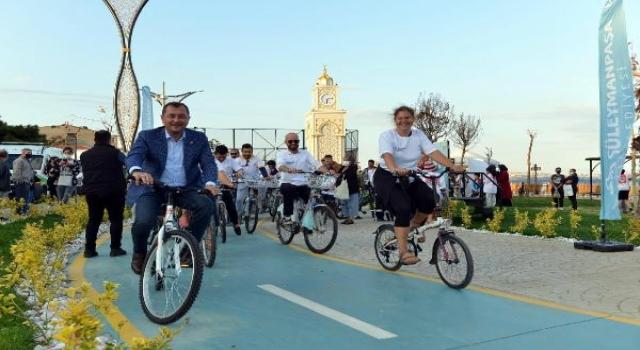 Başkan Yüksel, Hareketlilik Haftası'nda pedal çevirdi