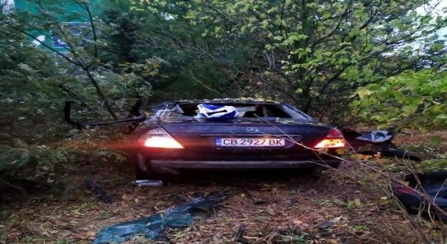 Kırklareli'de otomobil şarampole uçtu: Çinli 1 ölü, 4 yaralı