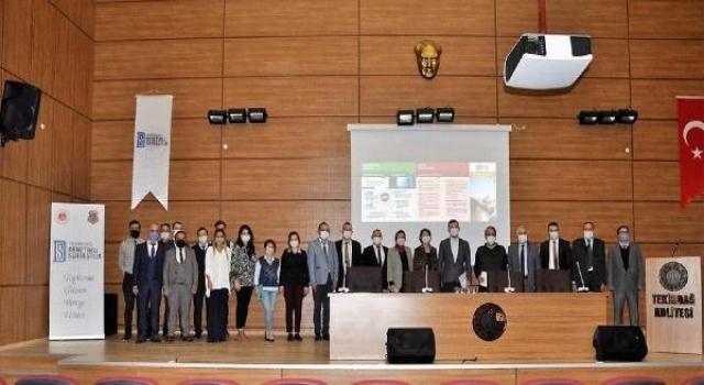 Tekirdağ'da yükümlülere bağımlılıkla mücadele semineri verildi