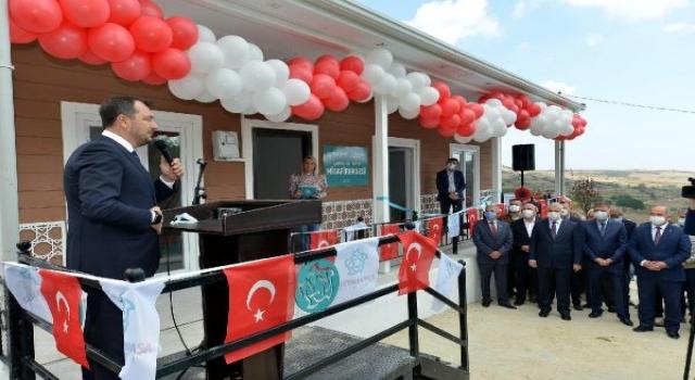 Başkan Yüksel: Kırsal mahallelerimizin kamu binaları yenilendi