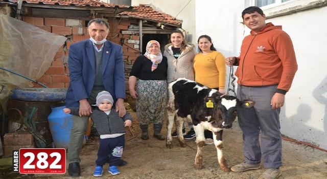 Tekirdağlı çiftçilerden Milli Dayanışma Kampanyası'na destek