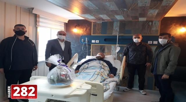 Tekirdağ'da sağlığına kavuşan vatandaş AK Parti'ye teşekkür etti