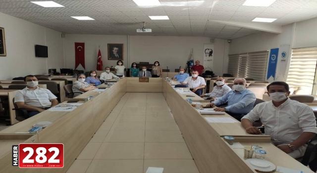 Encümen Toplantısı Yeni Üyelerin Katılımı İle Gerçekleşti