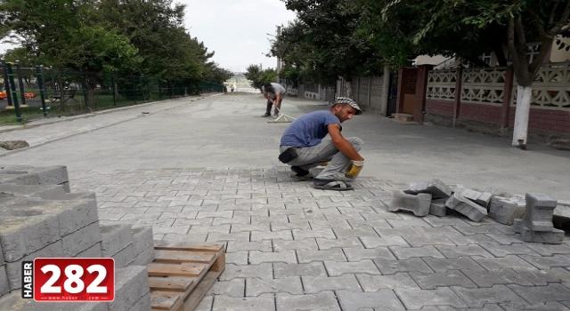 Ergene Belediyesinin Kilit Parke Taş ve Yol İyileştirme Çalışmaları Devam Ediyor