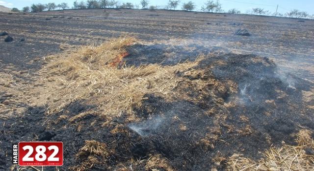 Malkara'da balya yangını