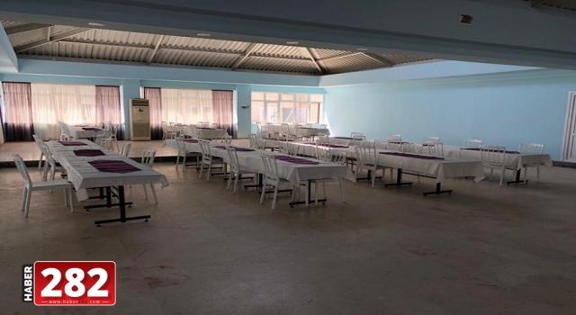 Marmaraereğlisi Belediye Düğün Salonu Yenilendi