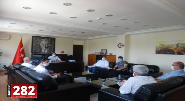 """""""Şarköy Kurban Komisyonu"""" toplandı"""