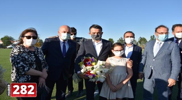 Tarım ve Orman Bakanı Pakdemirli, Tekirdağ'da çiftçilerle bir araya geldi