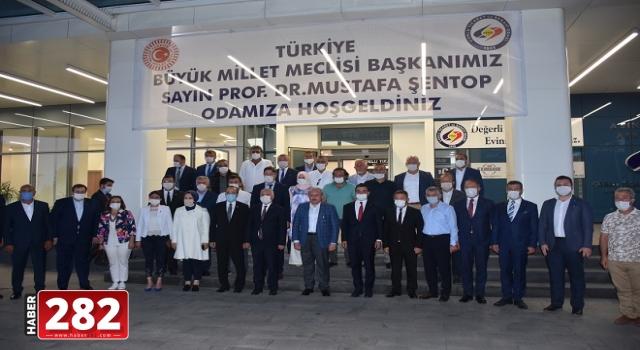 """TBMM Başkanı Mustafa Şentop: """"(Ayasofya'nın ibadete açılması) Uluslararası alanda önemli bir adım"""""""