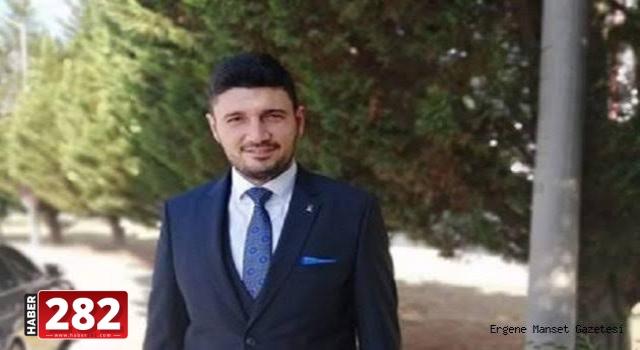 """Ergene AK Parti İlçe Başkanı Cem Karaca """"RAHAT UYUMAYIN DEMİSTİK"""""""