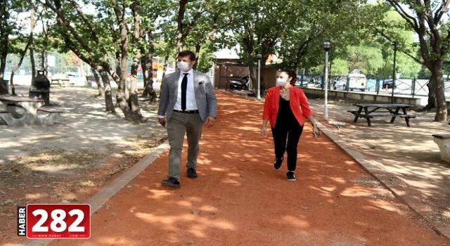 BAŞKAN AKAY KARTALTEPE PİKNİK ALANI'NDA İNCELEMELERDE BULUNDU