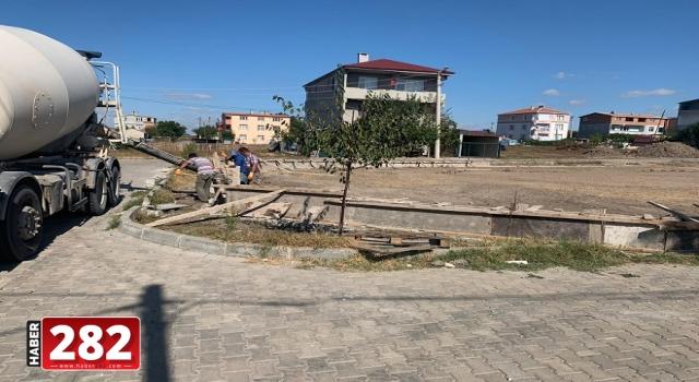 Ergene Belediyesi Ulaş Halk Bahçesi Projesinin Yapımına Başladı