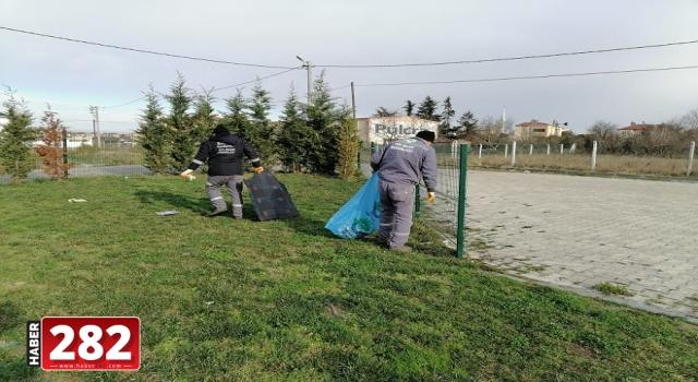 Ergene Belediyesi Parklar ve Yeşil Alanlarda Bakım, Onarıma Devam Ediyor