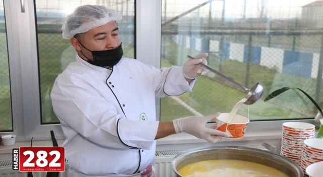 Yüzlerce Sofranın Sıcak Yemeği Ergene Belediyesi'nden