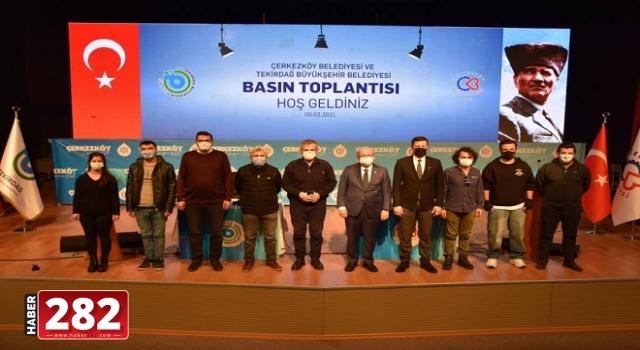 Başkan Kadir Albayrak Çerkezköy'de Basın Mensupları İle Buluştu