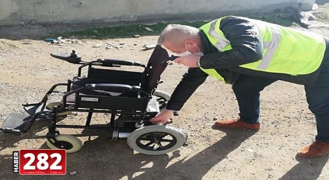 Engelli Araçların Bakımını Ergene Belediyesi Yapmaya Devam Ediyor