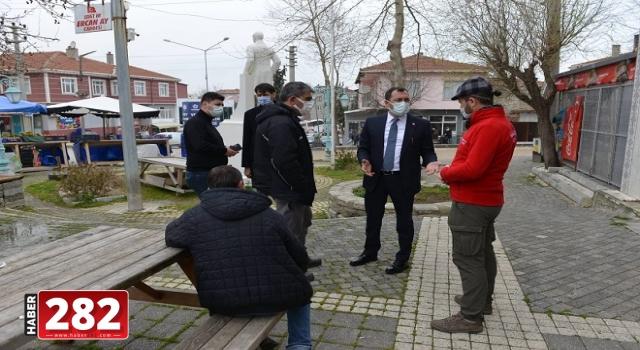 Başkan Yüksel kırsal mahallelerde ziyaretler gerçekleştirdi