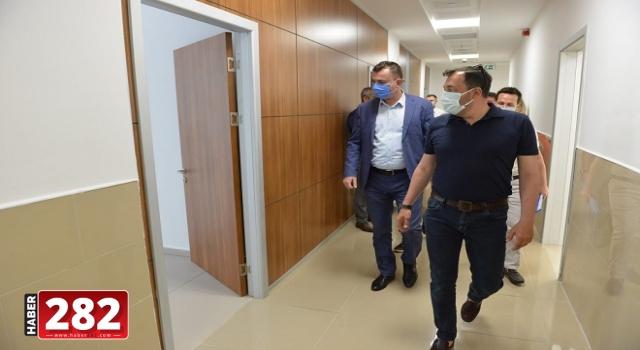 Süleymanpaşa Belediyesinden Tekirdağ Adliyesine destek