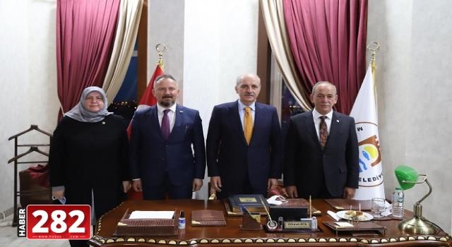 AK Parti Genel Başkanvekili Kurtulmuş'tan Marmaraereğlisi Belediyesi'ne Ziyaret