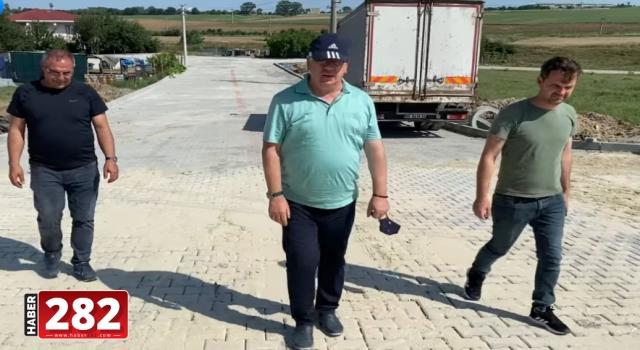 """Ergene Belediye Başkanı Rasim Yüksel, """"200 Kilometre Yol Yaptık"""""""