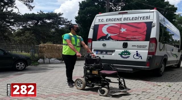 Ergenede Engelli Araçlarına Ücretsiz Tamir ve Bakım Hizmeti Sürüyor