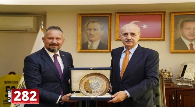"Numan Kurtulmuş: ""Marmara'nın incisi Tekirdağ'dayız"""