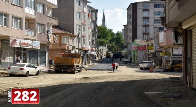 Tahtalı Cami Sokak'ta 1. ve 2. Etap Çalışmaları Tamamlandı