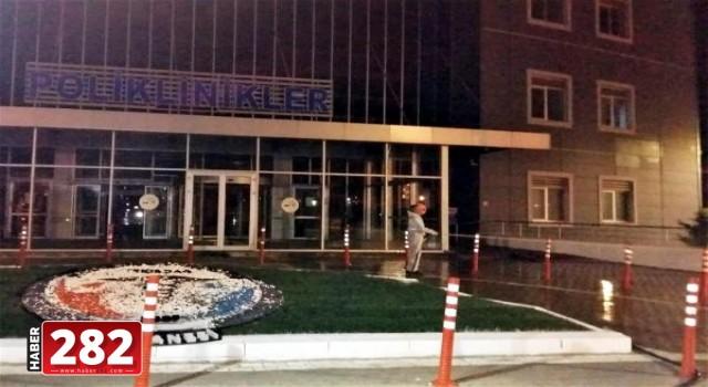 Süleymanpaşa Belediyesi hastaneleri dezenfekte ediyor