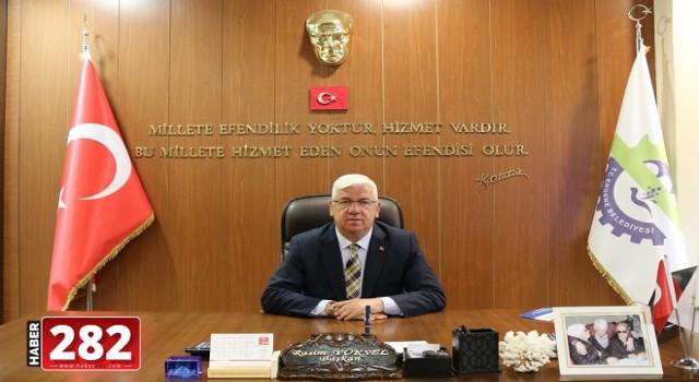 """Ergene Belediye Başkanı Rasim Yüksel, """"Muhtarlar Günü Kutlu Olsun"""""""