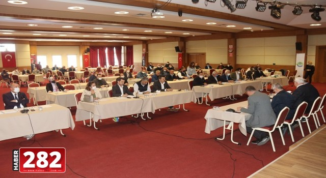Ergene Belediyesi Ekim Ayı Olağan Meclis Toplantısı Yapıldı
