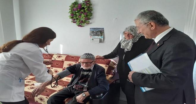 Süleymanpaşa Belediyesi'nden, evde ağız ve diş sağlığı tarama hizmeti