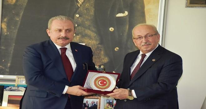 TBMM Başkanı Mustafa Şentop'tan Tekirdağ Büyükşehir Belediyesine Ziyaret