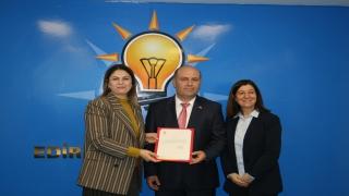 AK Parti Edirne Merkez İlçe Yönetim Kurulu oluşturuldu