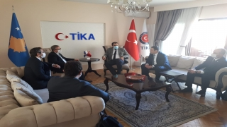 TÜ heyetinden Kosova'da ziyaretler