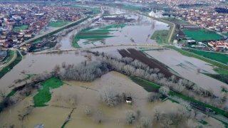 Sağanak, kuraklık tehlikesi yaşayan Edirne'de barajları doldurdu