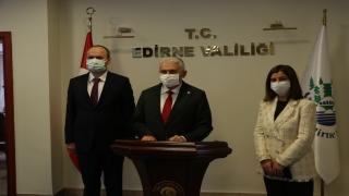 AK Parti İzmir Milletvekili Yıldırım, Edirne'de ziyaretlerde bulundu