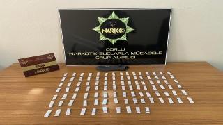 Çorlu'da düzenlenen uyuşturucu operasyonunda 2 şüpheli gözaltına alındı