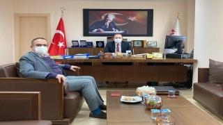 Tekirdağ BİK Müdürü Karakaya, Vergi Dairesi Başkanı Taşkıran'ı ziyaret etti