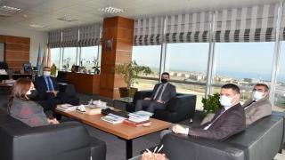 Tekirdağ NKÜ Rektörü Şahin'e ziyaret