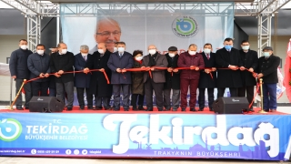 Tekirdağ Büyükşehir Belediyesi Su Ürünleri Toptancı Hali açıldı
