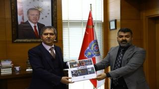 AA Edirne Bölge Müdürü Baran'dan Emniyet Müdürü Kurt'a ziyaret