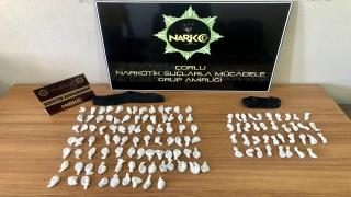 Tekirdağ'da uyuşturucu operasyonu: 1 gözaltı